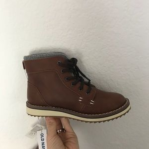 Old Navy boots • Little Boy •